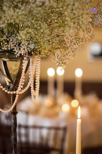 Stroudsmoor Country Inn - Stroudsburg - Poconos - Real Weddings - Strand Of Pearls