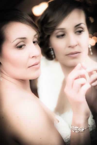 Stroudsmoor Country Inn - Stroudsburg - Poconos - Real Weddings - Brides Mirror Reflection