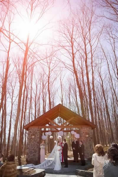 Stroudsmoor Country Inn - Stroudsburg - Poconos - Real Weddings - Wedding Ceremony