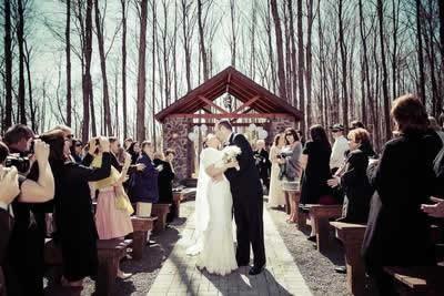 Stroudsmoor Country Inn - Stroudsburg - Poconos - Real Weddings - Wedding Ceremony Photos