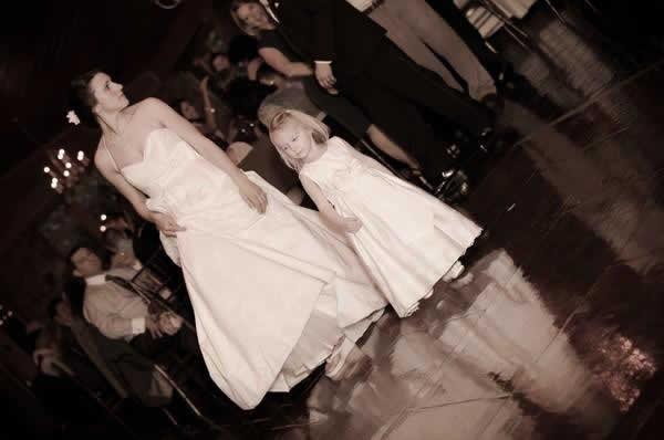 Stroudsmoor Country Inn - Stroudsburg - Poconos - Real Weddings - Bride With Flower Child
