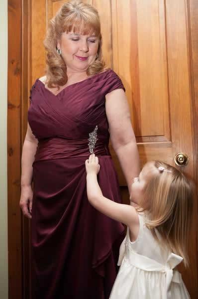 Stroudsmoor Country Inn - Stroudsburg - Poconos - Real Weddings - Flower Girl And Mom