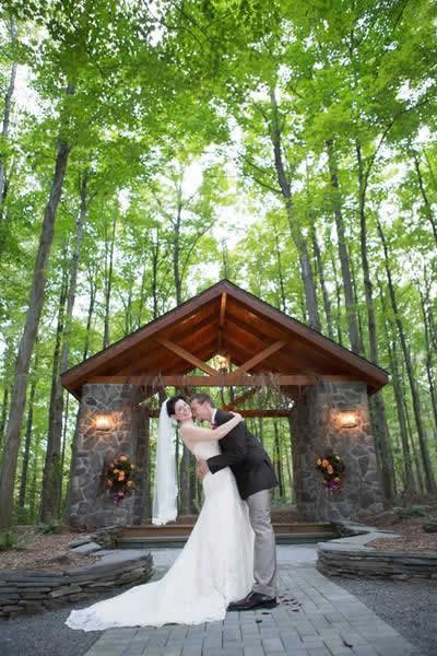 Stroudsmoor Country Inn - Stroudsburg - Poconos - Real Weddings - Zombie Theme - Bride And Groom