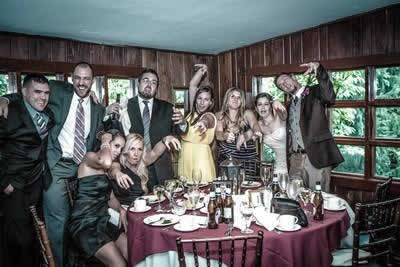 Stroudsmoor Country Inn - Stroudsburg - Poconos - Real Weddings - Zombie Theme - Guests