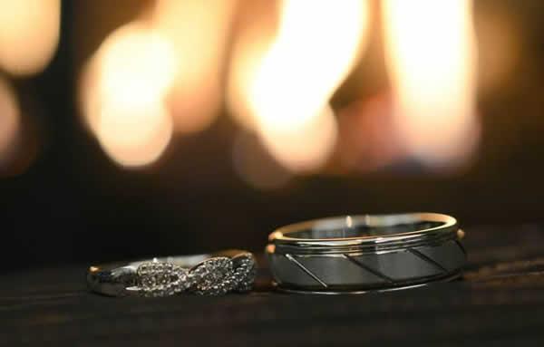 Stroudsmoor Country Inn - Stroudsburg - Poconos - Real Weddings - Wedding Rings
