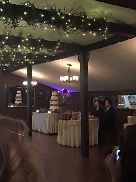 Stroudsmoor Country Inn - Stroudsburg - Poconos - Real Weddings - Couple Seated In Reception Area
