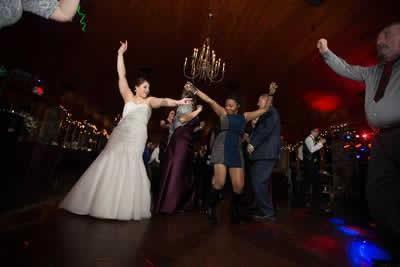 Stroudsmoor Country Inn - Stroudsburg - Poconos - Real Weddings - Bride Dancing With Guests