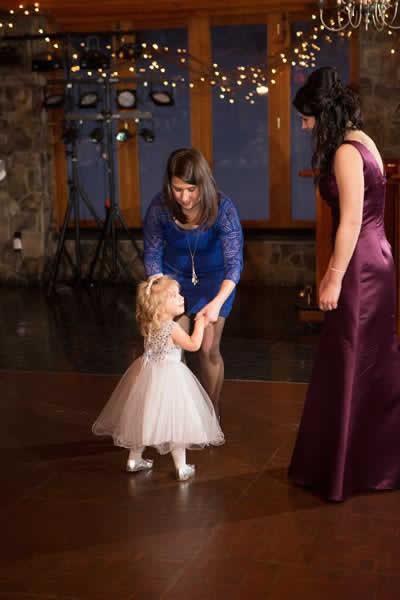 Stroudsmoor Country Inn - Stroudsburg - Poconos - Real Weddings - Flower Girl Dancing