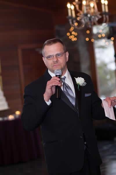 Stroudsmoor Country Inn - Stroudsburg - Poconos - Real Weddings - Some Celebratory Words Being Said