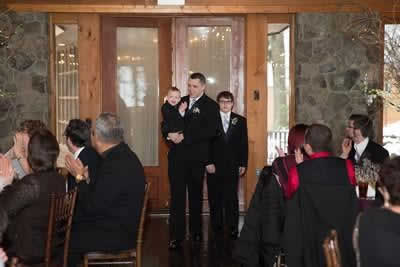 Stroudsmoor Country Inn - Stroudsburg - Poconos - Real Weddings - Wedding Guests And Ring Bearer