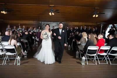 Stroudsmoor Country Inn - Stroudsburg - Poconos - Real Weddings - Bride And Groom After Ceremony