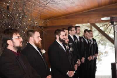Stroudsmoor Country Inn - Stroudsburg - Poconos - Real Weddings - Groomsmen And Best Man