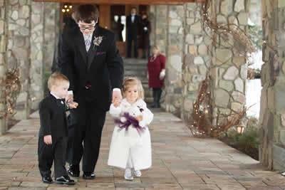 Stroudsmoor Country Inn - Stroudsburg - Poconos - Real Weddings - Flower Girl And Ring Bearer