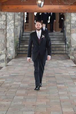 Stroudsmoor Country Inn - Stroudsburg - Poconos - Real Weddings - Guests Exiting Chapel