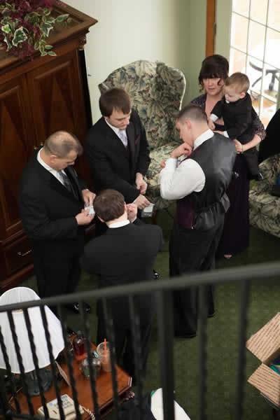 Stroudsmoor Country Inn - Stroudsburg - Poconos - Real Weddings - Groomsmen