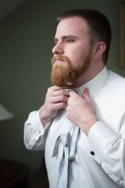 Stroudsmoor Country Inn - Stroudsburg - Poconos - Real Weddings - Groom