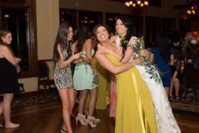 Stroudsmoor Country Inn - Stroudsburg - Poconos - Real Weddings - Happy Bride With Bridesmaid