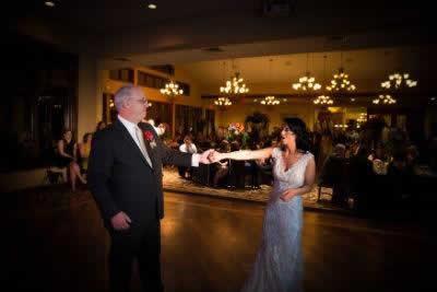 Stroudsmoor Country Inn - Stroudsburg - Poconos - Real Weddings - Bride Dancing With Dad