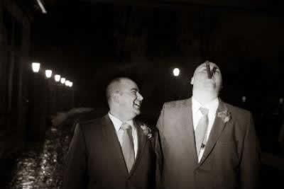 Stroudsmoor Country Inn - Stroudsburg - Poconos - Real Weddings - Wedding Guests Clowning Around