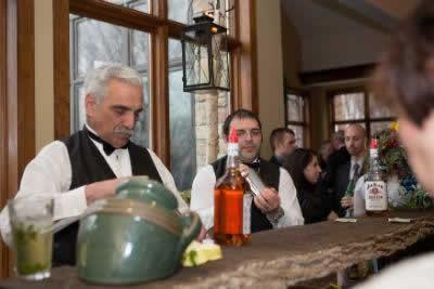 Stroudsmoor Country Inn - Stroudsburg - Poconos - Real Weddings - Cocktail Hour