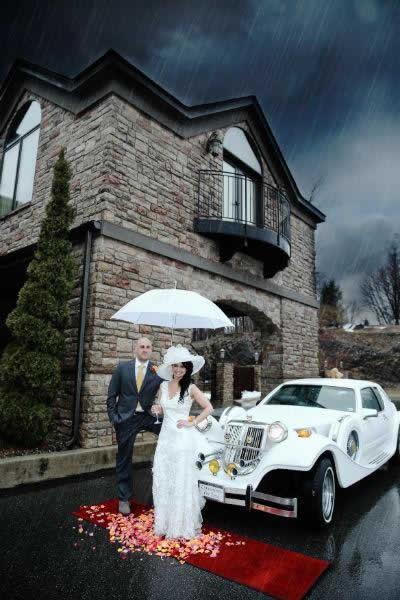 Stroudsmoor Country Inn - Stroudsburg - Poconos - Real Weddings - Bride And Groom Forties Theme