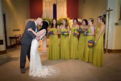 Stroudsmoor Country Inn - Stroudsburg - Poconos - Real Weddings - Bride And Groom Kissing