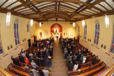 Stroudsmoor Country Inn - Stroudsburg - Poconos - Real Weddings - Wedding Ceremony In Chapel
