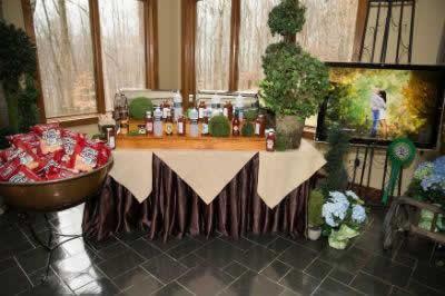 Stroudsmoor Country Inn - Stroudsburg - Poconos - Real Weddings - Sampling Table