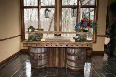 Stroudsmoor Country Inn - Stroudsburg - Poconos - Real Weddings - Buffet Table
