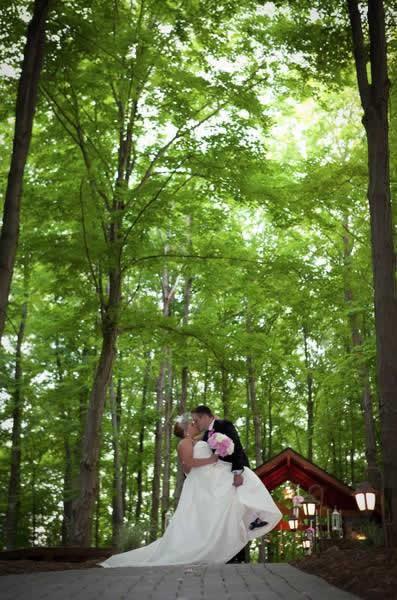 Stroudsmoor Country Inn - Stroudsburg - Poconos - Real Weddings - Bride And Groom