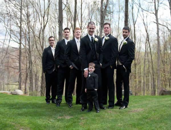 Stroudsmoor Country Inn - Stroudsburg - Poconos - Real Weddings - Groomsmen And Ring Bearer