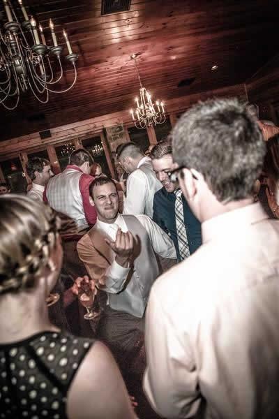 Stroudsmoor Country Inn - Stroudsburg - Poconos - Real Weddings - Wedding Party At The Reception