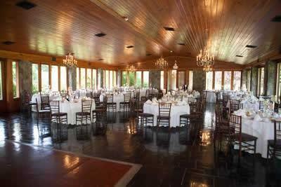 Stroudsmoor Country Inn - Stroudsburg - Poconos - Real Weddings - Table Settings In Reception Room