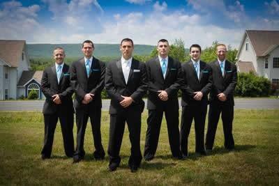Stroudsmoor Country Inn - Stroudsburg - Poconos - Groomsmen - Real Weddings