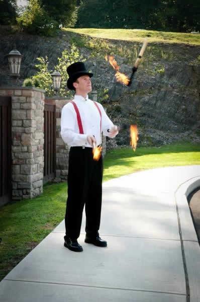 Stroudsmoor Country Inn - Stroudsburg - Poconos - Real Weddings - Juggler
