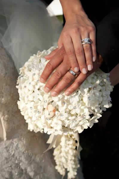 Stroudsmoor Country Inn - Stroudsburg - Poconos - Real Weddings - Bride And Groom Displaying Wedding Bands