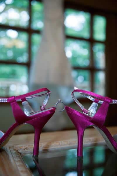 Stroudsmoor Country Inn - Stroudsburg - Poconos - Real Weddings - Bridesmaids Shoes