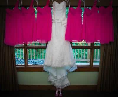 Stroudsmoor Country Inn - Stroudsburg - Poconos - Real Weddings - Bride And Bridesmaids Dresses