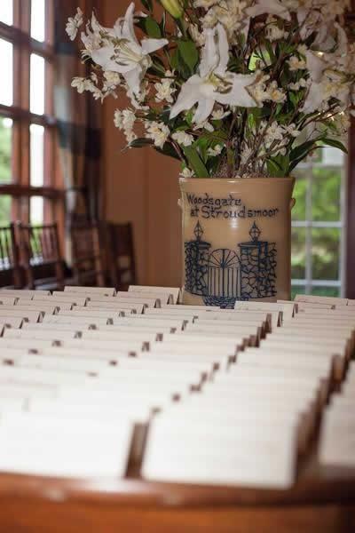 Stroudsmoor Country Inn - Stroudsburg - Poconos - Real Weddings - Wedding Table Settings