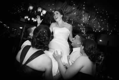 Stroudsmoor Country Inn - Stroudsburg - Poconos - Real Weddings- Bride With Guests