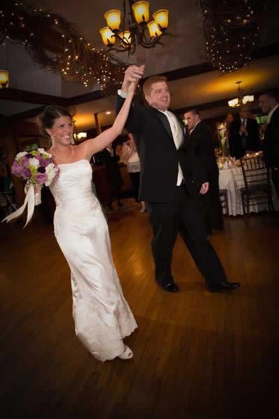 Stroudsmoor Country Inn - Stroudsburg - Poconos - Real Weddings - Bride And Groom Being Introduced