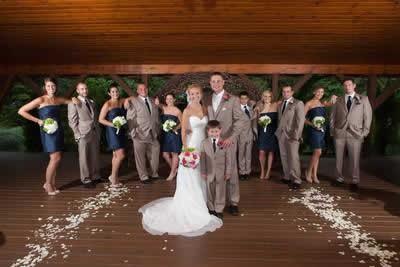 Stroudsmoor Country Inn - Stroudsburg - Poconos - Real Weddings - Bride, Groom, Bridesmaids and Groomsmen