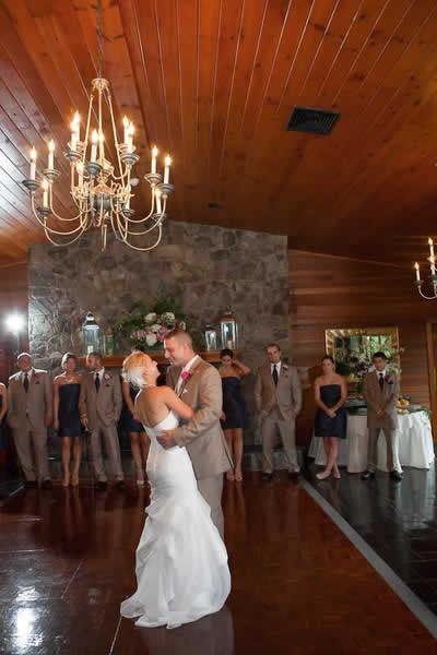 Stroudsmoor Country Inn - Stroudsburg - Poconos - Real Weddings - Married Couple Has First Dance