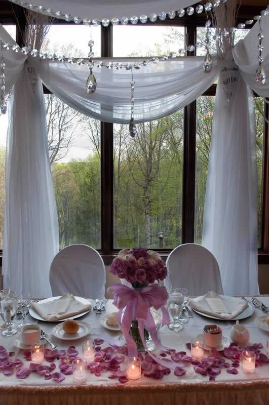 Stroudsmoor Country Inn - Stroudsburg - Poconos - Classic Wedding Celebrations - Sweetheart Table