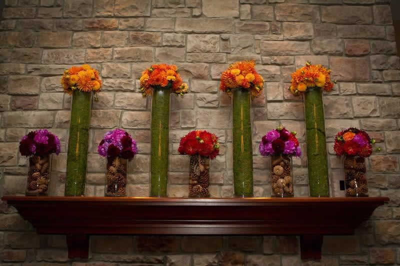 Stroudsmoor Country Inn - Stroudsburg - Poconos - Classic Wedding Celebrations - Decorative Mantel