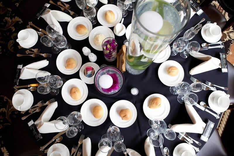 Stroudsmoor Country Inn - Stroudsburg - Poconos - Classic Wedding Celebrations - Table Setting