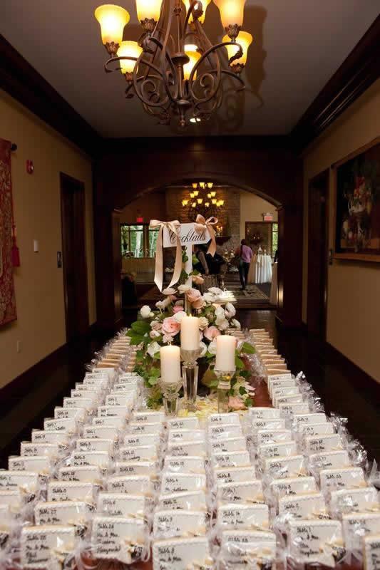 Stroudsmoor Country Inn - Stroudsburg - Poconos - Classic Wedding Celebrations - Wedding Placement Cards