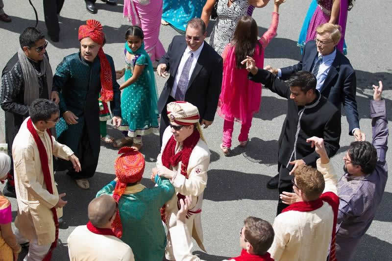 Stroudsmoor Country Inn - Stroudsburg - Poconos - Indian Wedding - Family And Guests