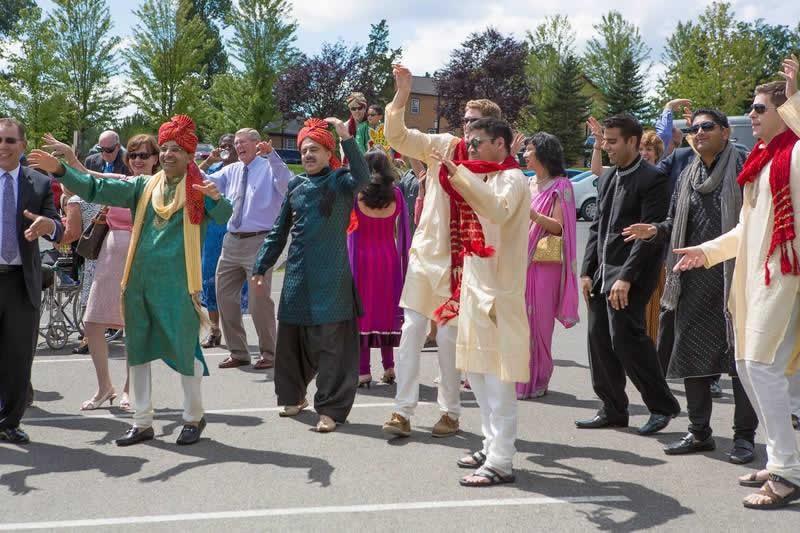 Stroudsmoor Country Inn - Stroudsburg - Indian Wedding - Guests Dancing - Poconos