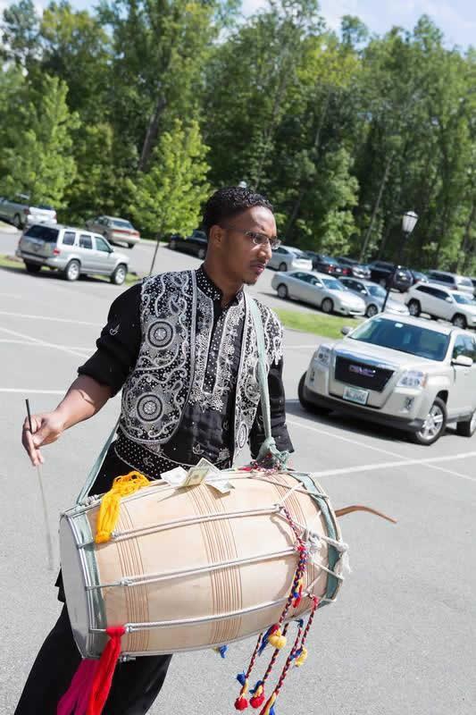 Stroudsmoor Country Inn - Stroudsburg - Indian Wedding - Poconos - Man With Drum